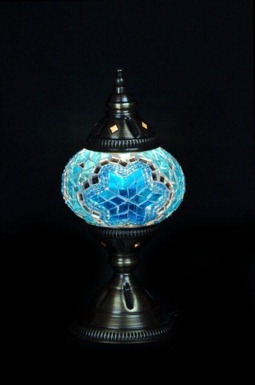 Turkse tafellamp turquoise gemakkelijk, veilig en snel online bestellen