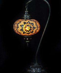 Tafellamp Turks mozaïek bruin veilig online bestellen, gratis verzenden
