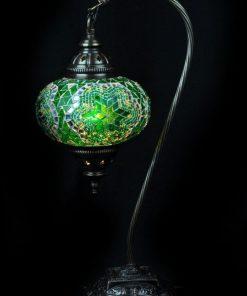 Turkse tafellamp mozaïek groen veilig online bestellen, gratis verzenden