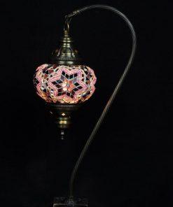 Turkse tafellamp mozaïek paars veilig online bestellen, gratis verzenden