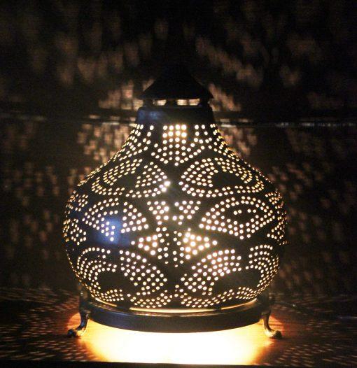 Turkse filigrain tafellamp 30x30x37 cm/ Turkse lamp - turkselampen-online.nl