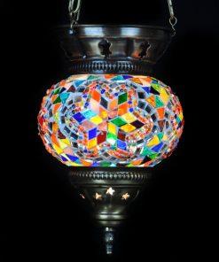 Turkse hanglamp multicolours - Turkse Lampen Online