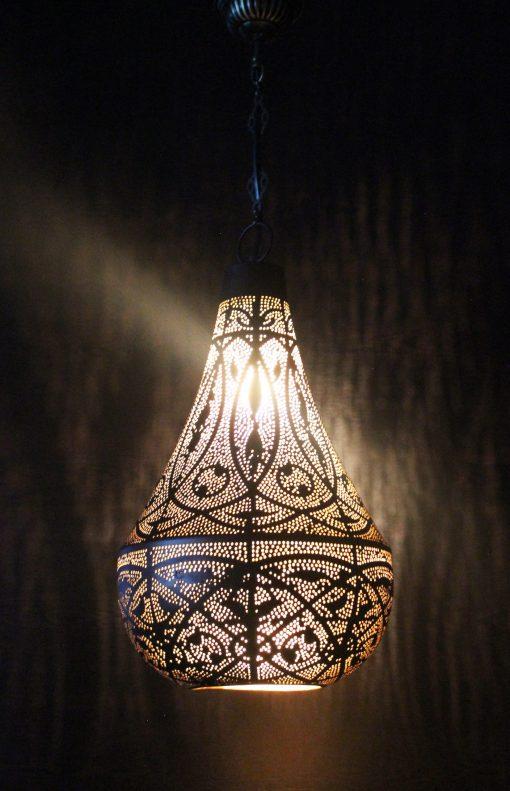 Turkse filigrain hanglamp 25x25x52 cm/ Turkse lamp - turkselampen-online.nl