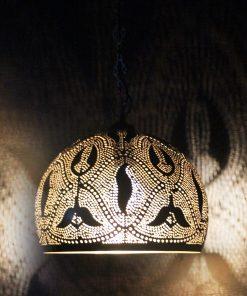 Turkse filigrain hanglamp 30x30x37 cm/ Turkse lamp - turkselampen-online.nl