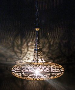 Turkse filigrain hanglamp 30x30x50 cm/ Turkse lamp - turkselampen-online.nl