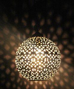Turkse filigrain hanglamp 35x35x45 cm/ Turkse lamp - turkselampen-online.nl