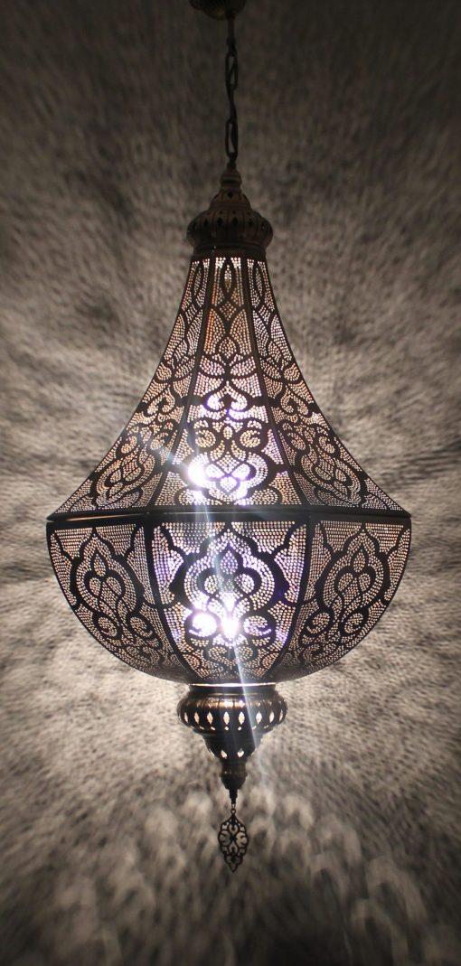 Turkse filigrain hanglamp/ Turkse lamp - turkselampen-online.nl