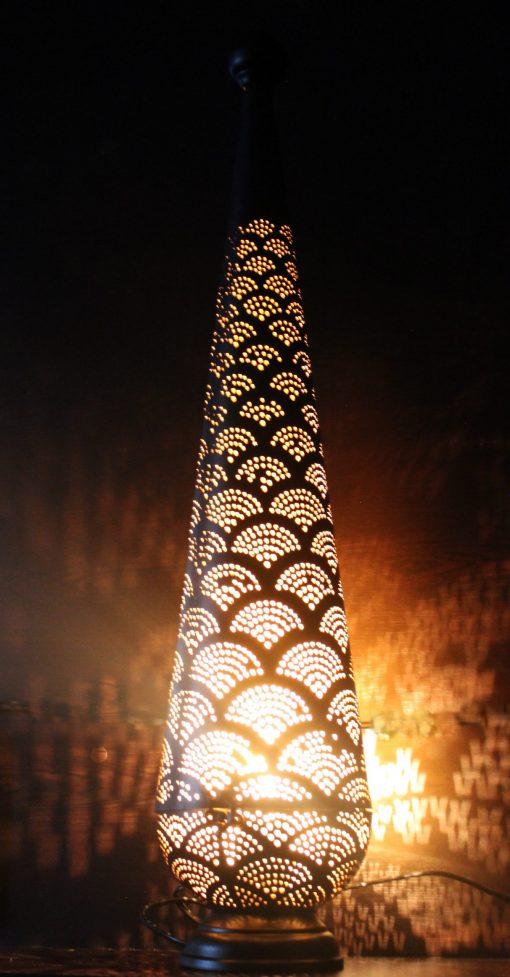 Turkse filigrain tafellamp 26x16x72 cm/ Turkse lamp - turkselampen-online.nl