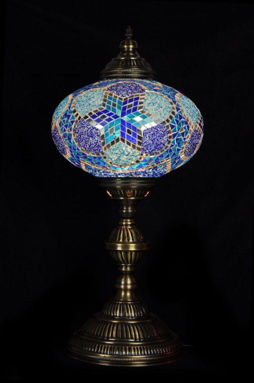 Tafellamp ovaal N6 Blauw