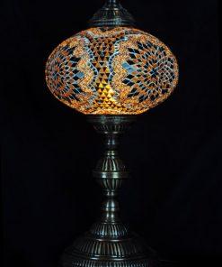 Tafellamp ovaal N6 Bruin