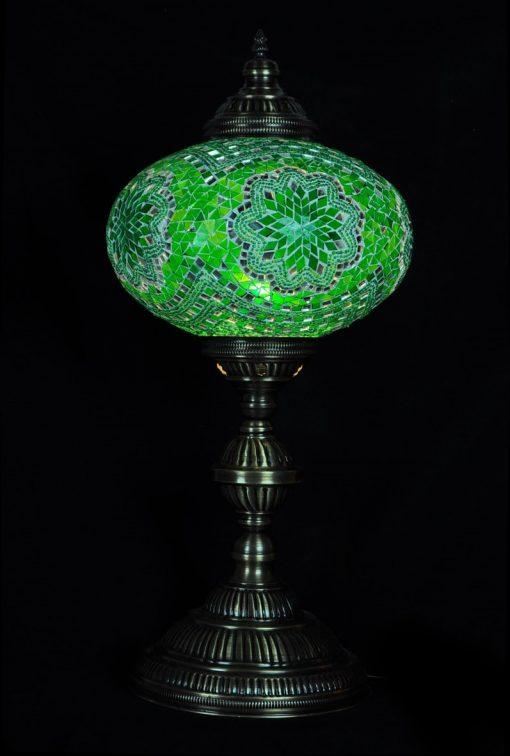 Tafellamp ovaal N6 Groen