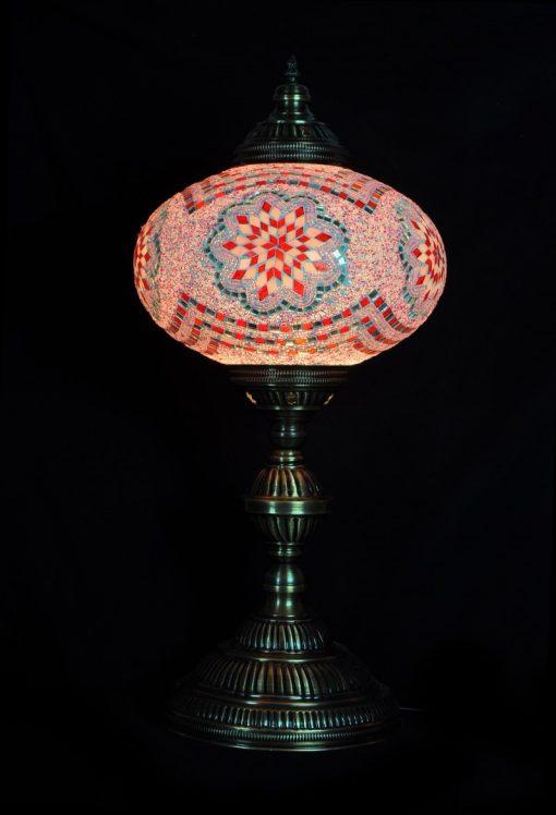 Tafellamp ovaal N6 Roze