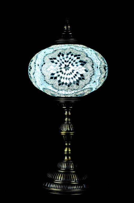 Tafellamp ovaal N6 Wit