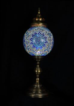 Tafellamp rond T30 Blauw