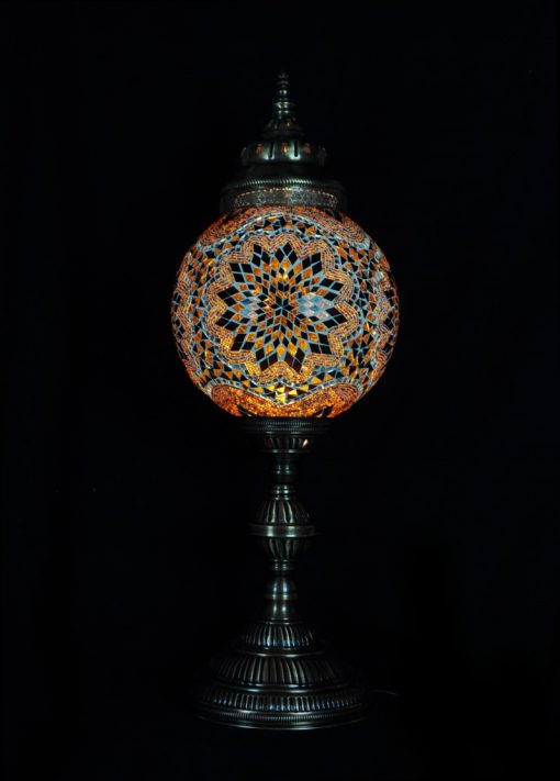 Tafellamp rond T30 Bruin