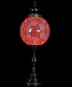 Tafellamp rond T30 Rood