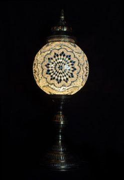 Tafellamp rond T30 Wit